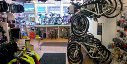 Bikes available and ready to ride